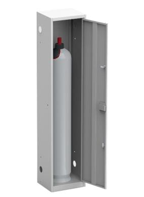 Шкаф для кислородного баллона ШГР 40-1 купить недорого