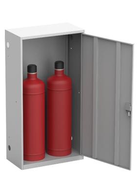 Шкаф для двух газовых баллонов ШГР 50-2 купить недорого