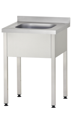 Ванны моечные цельнотянутые Profi (односекционные) металлические купить недорого