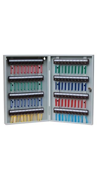 Шкаф для ключей КЛ-80 с брелками купить недорого в Екатеринбурге
