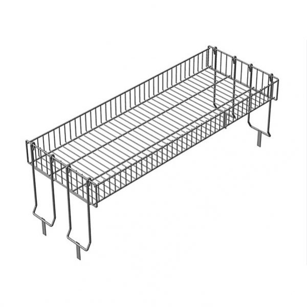 Надстройка для промо- стола, 4 складные опоры, цинк для магазина супермаркета купить недорого