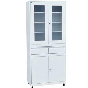 Медицинский шкаф для инструментов и медикаментов ШКВ-03 купить недорого в Екатеринбурге