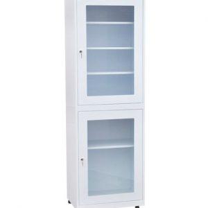 Медицинский шкаф для инструментов и медикаментов ШД-01 купить недорого в Екатеринбурге
