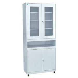 Медицинский шкаф для инструментов и медикаментов ШКВ-02 купить недорого в Екатеринбурге
