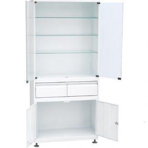 Медицинский шкаф ШМС-2-Р-2 купить недорого в Екатеринбурге