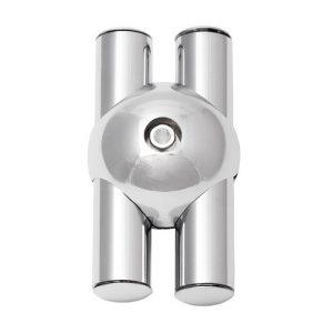 Соединение для 2х параллельных труб JOK-002 купить недорого с доставкой