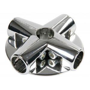 Соединение угловое для труб с 3 держателями полок UNO-13 купить недорого