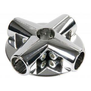 Соединение угловое для труб с 4 держателями полок UNO-14 купить недорого